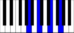 fmaj9 rootless piano chord